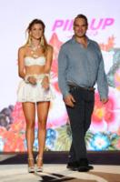 Jerry Tommolini, Fiammetta Cicogna - Milano - 21-09-2013 - Milano Fashion Week: il messaggio sul lato b