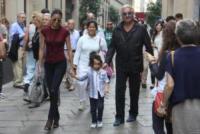 Nathan Falco Briatore, Elisabetta Gregoraci, Flavio Briatore - Milano - 21-09-2013 - Briatore-Gregoraci: prime lezioni di shopping per Nathan Falco