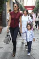 Nathan Falco Briatore, Elisabetta Gregoraci - Milano - 21-09-2013 - Briatore-Gregoraci: prime lezioni di shopping per Nathan Falco