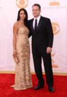 Luciana Barroso, Matt Damon - Los Angeles - 22-09-2013 - Emmy Awards 2013: il piccolo schermo è il protagonista
