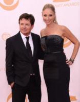 Tracy Pollan, Michael J.  Fox - Los Angeles - 22-09-2013 - Emmy Awards 2013: il piccolo schermo è il protagonista