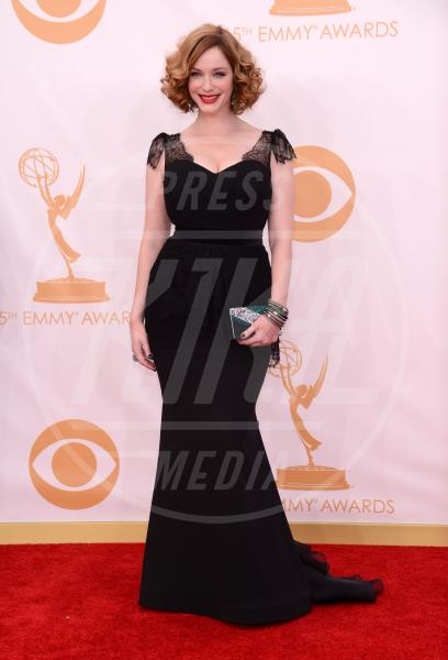 Christina Hendricks - Los Angeles - 22-09-2013 - Emmy Awards 2013: le dive sono sirene per una notte