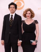 Geoffrey Arend, Christina Hendricks - Los Angeles - 22-09-2013 - Emmy Awards 2013: il piccolo schermo è il protagonista