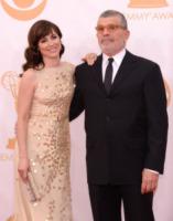 Rebecca Pidgeon, David Mamet - Los Angeles - 22-09-2013 - Emmy Awards 2013: il piccolo schermo è il protagonista