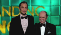 Jim Parsons, Bob Newhart - Los Angeles - 22-09-2013 - Emmy Awards 2013:      lo       show