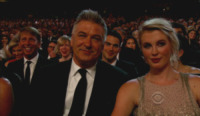 Ireland Baldwin, Alec Baldwin - Los Angeles - 22-09-2013 - Emmy Awards 2013:      lo       show