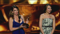 Tracey Wigfield, Tina Fey - Los Angeles - 22-09-2013 - Emmy Awards 2013:      lo       show