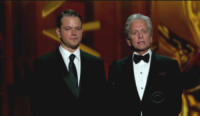 Matt Damon, Michael Douglas - Los Angeles - 22-09-2013 - Emmy Awards 2013:      lo       show
