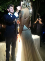 Stefano De Martino, Belen Rodriguez - Comignago - 20-09-2013 - Si è sposata anche la sorella di Belen