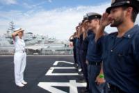 Catia Pellegrino - Augusta - 20-09-2013 - Catia Pellegrino, primo comandante donna di una nave militare
