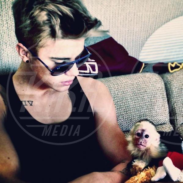 Mally, Justin Bieber - Los Angeles - 03-04-2013 - Justin a confronto: quando l'eleganza è innata