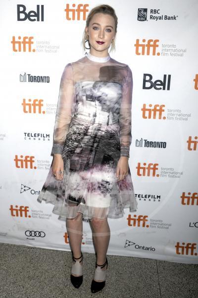 Saoirse Ronan - Toronto - 10-09-2013 - Il rossetto dell'autunno? E' rosso Burgundy