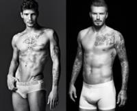 Stefano De Martino, David Beckham - 25-09-2013 - Stefano De Martino come David Beckham
