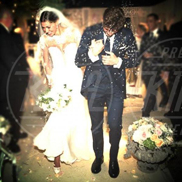 Stefano De Martino, Belen Rodriguez - 20-09-2013 - Amal e George: Hello! e People svelano l'abito della sposa