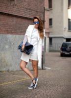 Irene Colzi - Milano - 24-09-2013 - Primavera 2015: con il soprabito, le celebs vanno… in bianco!