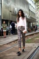 Chiara Totire - Milano - 24-09-2013 - In primavera ed estate, mettete dei fiori… sui pantaloni!