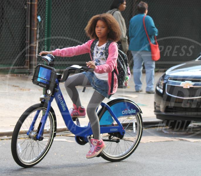 Quvenzhane Wallis - New York - 26-09-2013 - Dove vai, se la bici (condivisa) non ce l'hai?