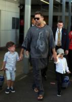 Valentino Martin, Matteo Martin, Ricky Martin - Sydney - 27-09-2013 - Ricky Martin, il ritratto del perfetto papà