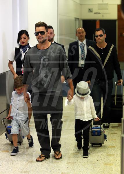 Carlos Gonzalez, Valentino Martin, Matteo Martin, Ricky Martin - Sydney - 27-09-2013 - Ricky Martin, il ritratto del perfetto papà