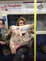 Spice Girls, Geri Halliwell - Londra - Londra - 27-09-2013 - Dalle stelle…ai cunicoli ferroviari della metro