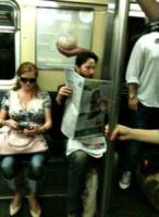 Keanu Reeves - 27-09-2013 - Lourdes Leon: la metro di New York ha la sua diva