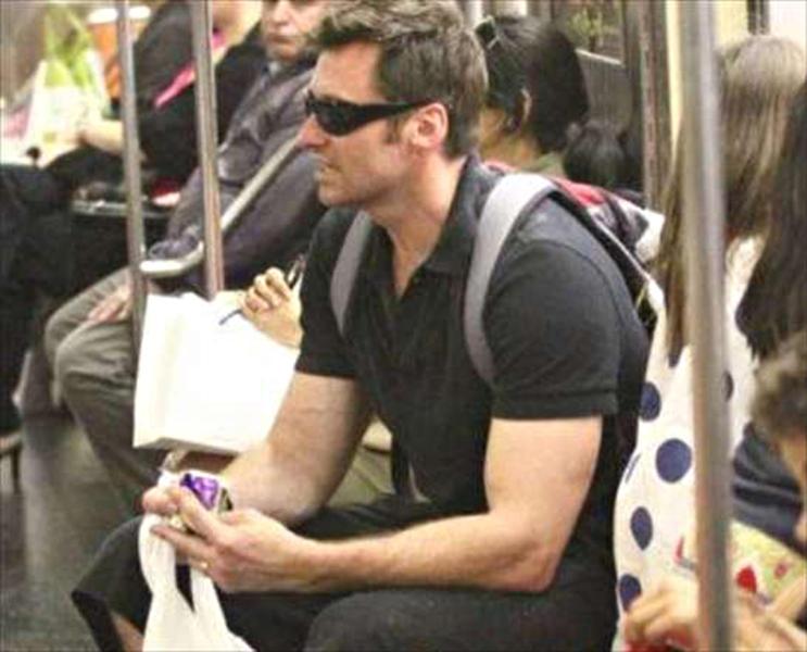 Hugh Jackman - 27-09-2013 - Lourdes Leon: la metro di New York ha la sua diva