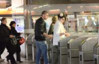 Claudia Casciaro - amici di maria de filippi - Roma - 27-09-2013 - Dalle stelle…ai cunicoli ferroviari della metro