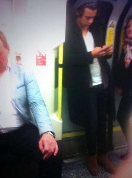 Harry Styles, One Direction - 27-09-2013 - Lourdes Leon: la metro di New York ha la sua diva
