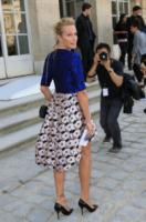 Estelle Lefebure - Parigi - 27-09-2013 - Addio, abito lungo: sul red carpet si impone lo spezzato