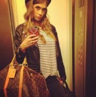 Melissa Satta - Los Angeles - 29-09-2013 - Dillo con un tweet: Canalis, primo giorno di…poligono!