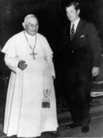 Giovanni XXIII, ROBERT KENNEDY - Roma - 23-05-1961 - Giovanni Paolo II e Giovanni XXIII santi il 27 aprile