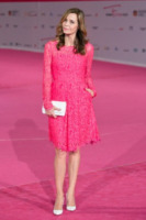 Eliana Miglio - Roma - 29-09-2013 - La rivincita delle bionde in rosa shocking: le vip sono Barbie!