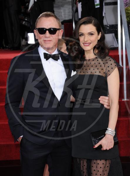 Daniel Craig, Rachel Weisz - Beverly Hills - 13-01-2013 - Le partecipazioni? Macchè, I vip preferiscono le nozze segrete