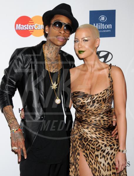 Wiz Khalifa, Amber Rose - Beverly Hills - 11-02-2012 - Le partecipazioni? Macchè, I vip preferiscono le nozze segrete