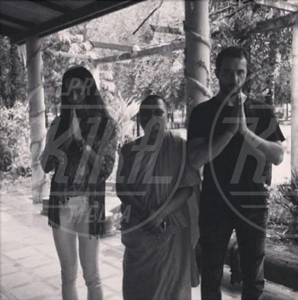 Massimiliano Dossi, Nina Moric - Los Angeles - 06-08-2013 - Le partecipazioni? Macchè, I vip preferiscono le nozze segrete