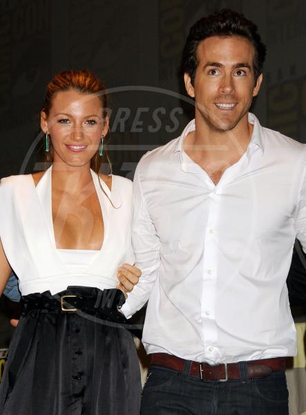 Blake Lively, Ryan Reynolds - San Diego - 24-07-2010 - Le partecipazioni? Macchè, I vip preferiscono le nozze segrete