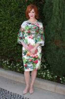 Christina Hendricks - Beverly Hills - 29-09-2013 - Mini o longuette, ma pieno di fiori: è l'abito della primavera!