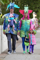 Alyson Hannigan - Los Angeles - 31-10-2012 - Ad Halloween le star si vestono così