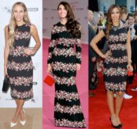 Harley Viera-Newton, Rochelle Wiseman, Caterina Murino - 07-10-2013 - Chi lo indossa meglio? I fiori di Dolce & Gabbana