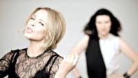 Laura Pausini, Kylie Minogue - 07-10-2013 - Laura Pausini e Kylie Minogue insieme in Limpido