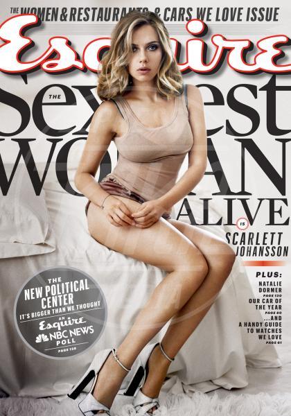 Stati Uniti - 07-10-2013 - Scarlett Johansson è la donna più sexy al mondo per Esquire