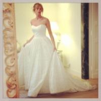 Alessia Marcuzzi - Milano - 14-05-2013 - E voi con chi vorreste andare all'altare?