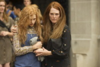 Chloe Grace Moretz, Julianne Moore - Los Angeles - 07-10-2013 - Chloe Grace Moretz scatena la telecinesi in Carrie