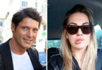 Veronica Angeloni, Aldo Montano - Milano - 24-06-2013 - Dillo con un tweet: una pallavolista per Aldo Montano