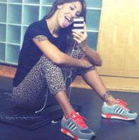 Belen Rodriguez - Los Angeles - 10-10-2013 - Dillo con un tweet: una pallavolista per Aldo Montano
