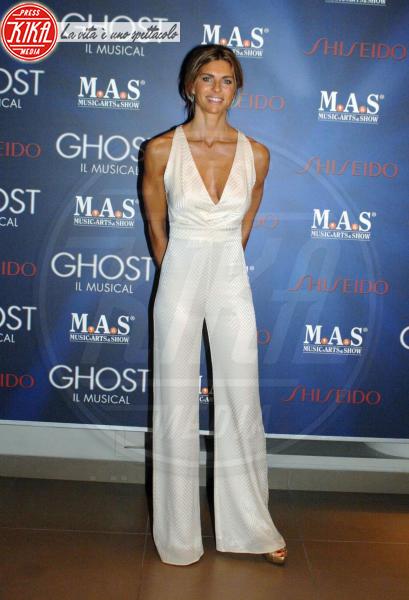 Martina Colombari - Milano - 10-10-2013 - La tuta glam-chic conquista le celebrity