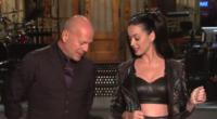 """Katy Perry, Bruce Willis - New York - 12-10-2013 - Il segreto di Katy Perry? """"Fai vedere un po' di carne"""""""