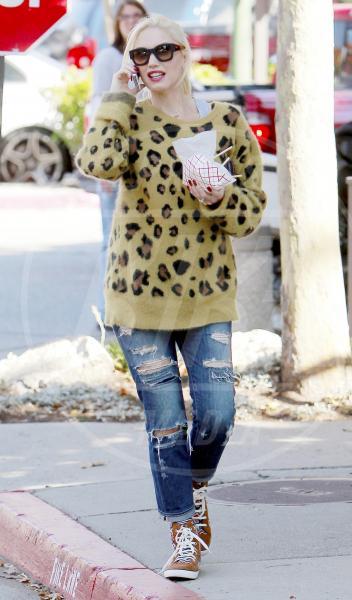 Gwen Stefani - Los Angeles - 12-10-2013 - Il maglione è la soluzione per la… fredda stagione!