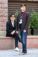 Clive Owen, Steven Soderbergh - New York - 12-10-2013 - Steven Soderbergh produrrà la serie tv Godless per Netflix
