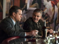 Matt Damon, George Clooney - Los Angeles - 13-10-2013 - Slitta l'uscita nelle sale di The Monuments Men